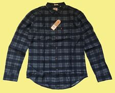 """Levis mens Long Sleeve Checked Shirt Lightweight - LARGE 42"""" Chest"""
