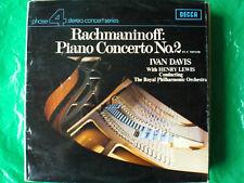 RACHMANINOFF PIANO CONCERTO No.2 IN C MINOR  -  VINYL LP  (V16)