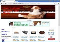 Pet Store Turnkey Website For Sale Free Domain, Setup, Plus Free  Bonuses + +