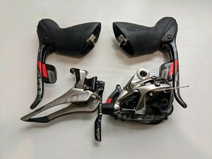 SRAM Red 10 Speed Rim Brake Mini Group : Shifters, Front and Rear Derailleur