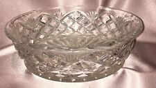 Estate Collectable ~ Nice old Pressed Glass Dish Bowl ~ Vintage