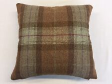 Heritage Skye Sage By Moon Furnishings 100% Pure New Wool Cushion Cover 40x40cm