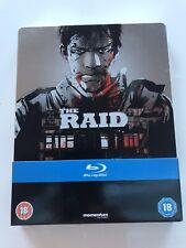 The Raid STEELBOOK  (Blu-Ray) Not Sealed But Unplayed.