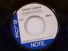 """STANLEY JORDAN """"THE LADY IN MY LIFE / NEW LOVE"""" 45 MINT"""