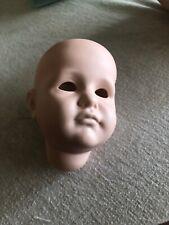 """Vtg New Kammer-Reinhardt Kr 114 Gretchen Ceramic Bisque 12-15"""" Doll Head~Repair"""