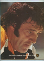 Vintage NHL Hockey Program 1972 Philadelphia Flyers Boston Bruins Phil Esposito