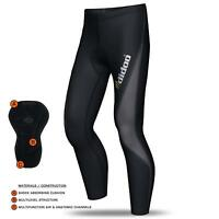 Didoo Mens Thermal Cycling Tights Padded Trouser Base Layers Long Pant Sports