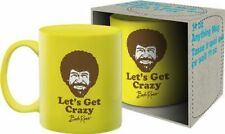 BOB ROSS - LET'S GET CRAZY - COFFEE MUG - BRAND NEW 11 OUNCES - ART 47134