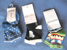 3 paires CHAUSSETTES ABSORBA IKKS Taille 15/18 multicolore