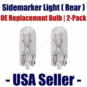 Sidemarker (Rear) Light Bulb 2pk - Fits Listed Subaru Vehicles - 194