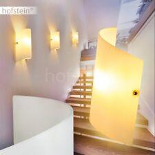 Up Down Wand Lampen Flur Dielen Licht Effekt Wohn Schlaf Raum Leuchten Glas weiß