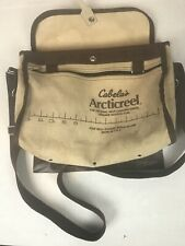 Cabelas Articreel Canvas Fishing Creel With Strap