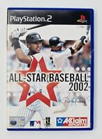 All Star Baseball 2002 PS2 Playstation 2 PAL Game Acclaim Sports 2002