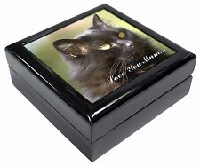 Beautiful Black Cat 'Love You Mum' Keepsake/Jewellery Box Christmas G, AC-2lymJB