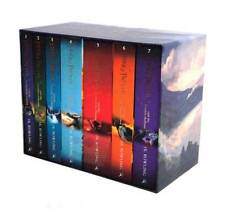 Harry Potter 7 Books The Complete Collection Paperback Boxed Set Children Editio