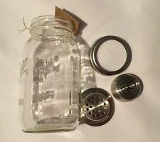 Mason Jar Mixed Drink Shaker Mixology Party Night Bar Tender Gift