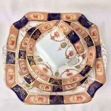 Tea Cup & Saucer British Colclough Porcelain & China Tableware