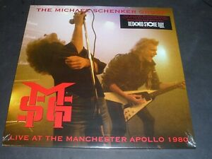 MICHAEL SCHENKER GROUP 2LP LIVE AT THE MANCHESTER APOLLO 1980 RSD 2021- NEW