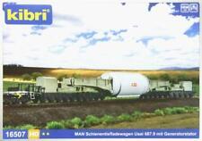 Kibri 16507 H0 - Schienentiefladewagen Uaai 68 NEU & OvP