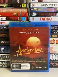 APOCALYPSE NOW (1979) BLU RAY CULT WAR DRAMA SPECIAL EDITION R4