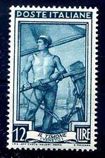 ITALIA 1950 - ITALIA AL LAVORO Lire 12  NUOVO **