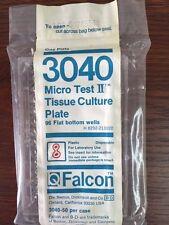 Lot of 22 Falcon 96 Flat Bottom Wells Micro Test II Tissue Culture Plates 3040