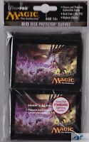 Dragons of Tarkir key art ULTRA PRO deck protector card sleeves for mtg cards