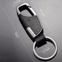 Men's Keychain  Keyring Fashion Creative Metal Car Key Fob  Key Chain Ring~