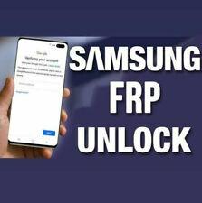 SAMSUNG ALL MODELS - PHONES|TABLETS - GOOGLE ACCOUNT|FRP - REMOTE UNLOCK INSTANT