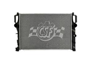 Radiator-1 Row Plastic Tank Aluminum Core CSF 3428
