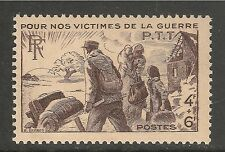 France #B192 (SP146) VF MNH - 1945 4fr+6fr War Victims Of The P.T.T.