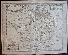 JANSSON : GALLIA VETUS, ad Julis Caesaris commentaria . GAULE ANTIQUE. 1627