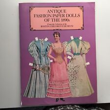 Antique Fashion Paper Dolls of the 1890's, Boston Children's Museum Collection