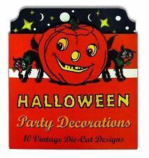 Vintage Halloween Cardboard Cutouts : Die Cut Party Decorations (2012, Print,...