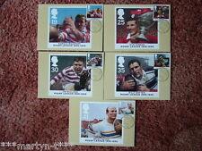 PHQ tarjetas IED frente Nº 174 liga de rugby Centenario 1995 5 Juego de Tarjetas Perfecto Estado