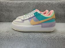Nike Air Force 1 Shadow Pale Ivory Gold Trainers New Women's Size UK 4