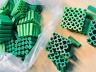 """400 pcs Screw Plastic Anchors - 7/32"""" / 5/16"""", 1"""" long, for concrete solid brick"""