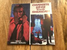 Chiamate 22-22 Tenente Sheridan - Italian Film Soundtrack OST Import LTD Vinyl
