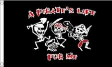 A PIRATE'S LIFE FOR ME FLAG 5ft X 3ft
