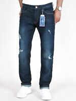Tom Tailor - Herren Regular Slim Fit Destroyed Stretch Jeans - Josh 1074