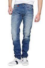 Stonewashed Replay Herren-Jeans mit regular Länge
