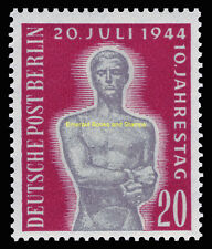 EBS West Berlin 1954 10th Anniversary Attempt on Hitler Michel 119 MNH**