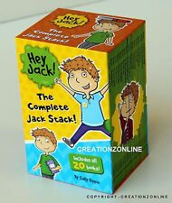 2018  New Hey Jack The Complete Jack Collection 20 Books Box Set By Sally Rippin