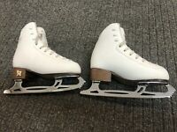 Risport Electra Light Figure Skates With Legacy 8 Blades (Size 200)