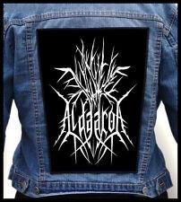 ALDAARON - Logo   --- Huge Jacket Back Patch Backpatch