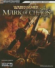 Warhammer Mark of Chaos: Official Strategy Guide, Very Good Condition Book, Sims