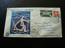 FRANCE - enveloppe 1er jour 21/3/1959 journee du timbre (cy12) french (A)
