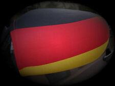Spiegelfahne Flagge Deutschland Spiegelflagge mit Gummizug WM EM Fußball Auto
