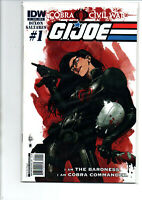 GI Joe Cobra Civil War #0-21 Complete Set - 2011 - IDW - (-Near Mint)