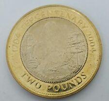Moneda £ 2 libras Gibraltar 2004